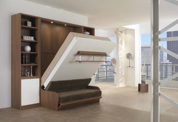Решения для малогабаритных квартир - шкаф-кровать и его преимущества